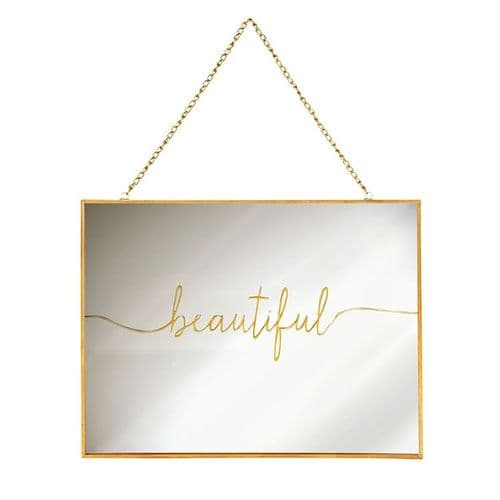 Matt Gold 'Beautiful' Mirror