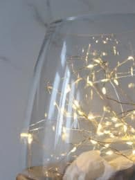 Silver Wire Fairy Lights, 3.9 metres