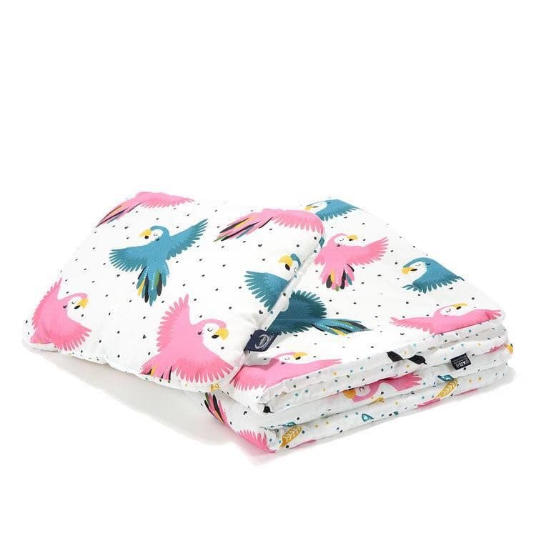 """La Millou CANDY PARROT BEDDING WITH FILLING TODDLER """"M"""""""