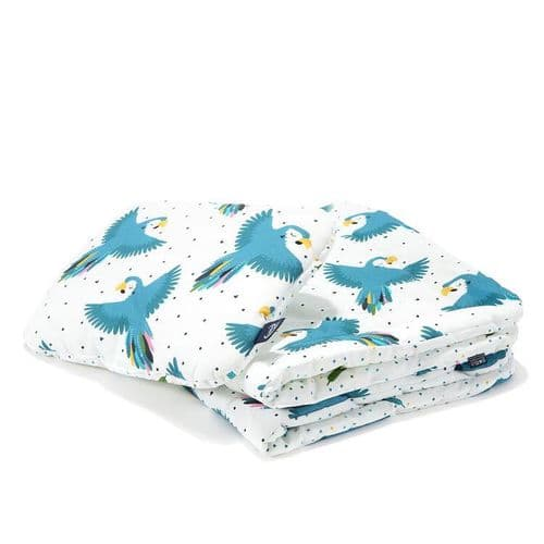 "La Millou PARROT LOVER BEDDING WITH FILLING TODDLER ""M"""