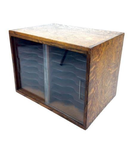 Vintage 1960's Wooden Cabinet / Storage Unit / Display Rack / Shelfs