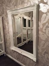 FABULOUS ORNATE White Antique Ornate Mirror - Other Frame Colours Available