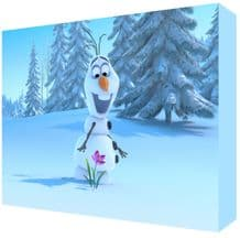 FROZEN Olaf Kids Room Canvas Art - NEW - Choose your size - Ready to Hang