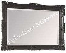 """Gold Shabby Chic Ornate Decorative Carved Wall Mirror 37.5"""" x 27.5"""" *NEW*"""