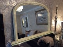 Large CREAM Arched Top Mirror - Stuuning - Save ££s - Insured in Transit