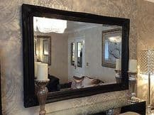 LARGE WHITE SHABBY CHIC WALL MIRROR - LARGE RANGE OF SIZES TO CHOOSE FROM