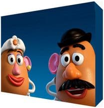 Potato Heads Toy Story Canvas Art - Choose your size - Ready to Hang - Free P&P