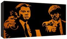 Pulp Fiction cult Film Movie Canvas Art - Choice of 8 Designs - Range of Sizes
