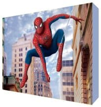 Spiderman Cartoon Kids Room Canvas Art - NEW - Choose your size - Ready to Hang