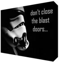 Stormtrooper Quote  Canvas Art - NEW - Choose your size - Ready to Hang