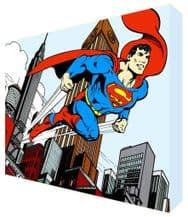 Superman Cartoon  Kids Bedroom Canvas Art - NEW - Choose your size