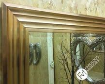 X LARGE Rose Gold Elegant Modern Stylish Wall Mirror SAVE ££s