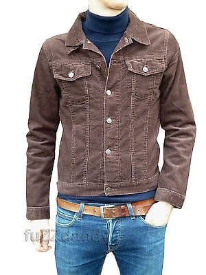 Anderson - Denim Corduroy Short Jacket (Brown Cord)