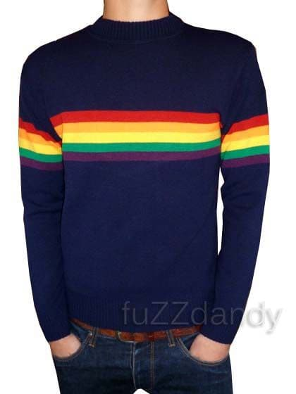 Rainbow - Jumper (navy blue)