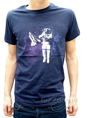 Spaceman - T shirt Tee (Blue)