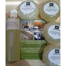 Caurnie Nettle soap 100g x4 = 400g plus Nettle Shampoo 190ml