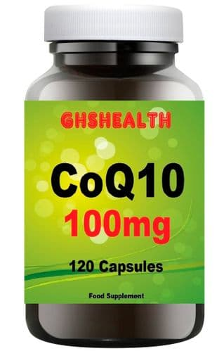 CoQ10 100mg 120 Capsules special offer normal RSP £39.99 Save £8