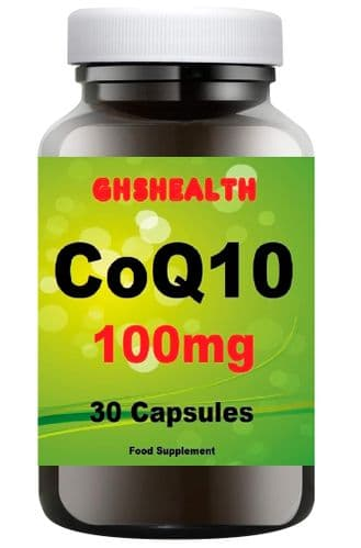 CoQ10 100mg 30 Capsules special offer normal Rsp £12.99