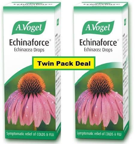 Echinaforce (Echinacea Drops) 50ml x 2 Twin Pack Offer