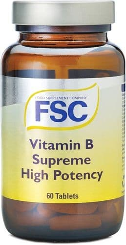 FSC - B Supreme  High Potency 60 tablets