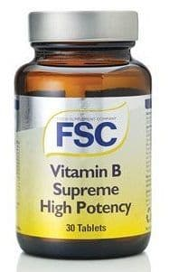 Fsc - B supreme High Potency B complex 30s