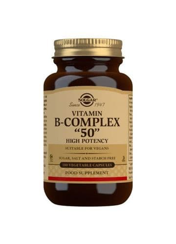 Solgar B50 Complex 100 Capsules Normal Rsp £18.75 - Special offer
