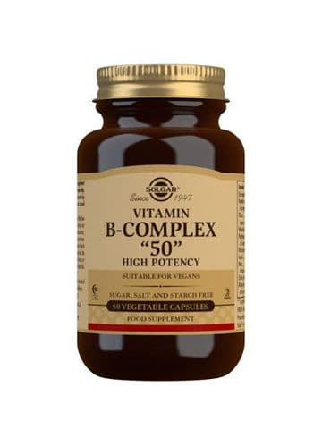 Solgar B50 Complex 50 Capsules Rsp £10.75 - Special offer