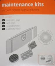 Vax Vacuum Cleaner Bags Maintenance Kit Suitable For All Canisters