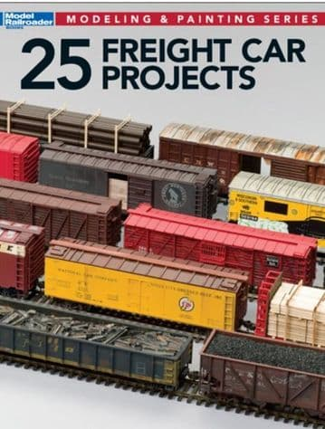 12498 25 Freight Car Projects ##out of stock##