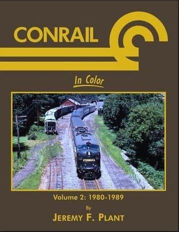 1458 Conrail In Color Volume 2: 1980-1989