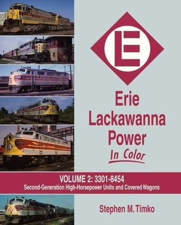 1516 Erie Lackawanna Power In Color Volume 2: #3301-8454