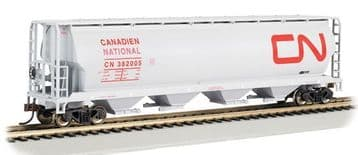 19113 Canadian 4-Bay Grain Hopper Canadian National ##out of stock##