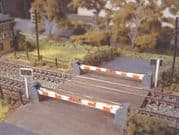 235 Level Crossing with Barriers