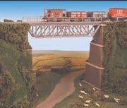 240 Steel Truss Bridge, with Stone Piers