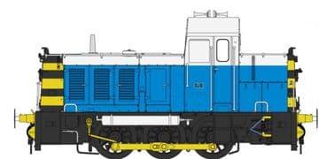 2909 Class 07 2909: Powell Duffryn blue/white '07006'
