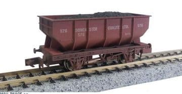 2F-034-028 21t Hopper Doncaster Coalite 576 Weathered ##Out Of Stock##