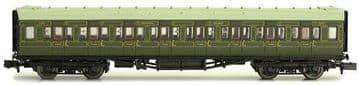 2P-012-102 Maunsell Coach SR 3rd Class Lined Green 2353