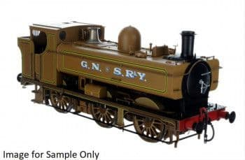 2S-007-028 Pannier Early Cab Ex 5775 GNSR Lined