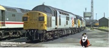 32-775NF Class 37/0 37104 Railfreight Grey (General)  £169.95