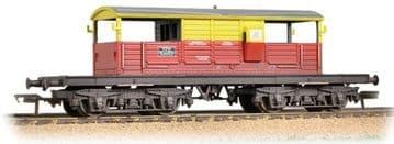 33-831 25 Ton Queen Mary Brake Van SatLink Weathered