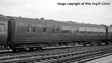 "34-725A Bulleid Semi-Open Brake Third (10"" Vents) Southern Railway Malachite Gr Pre Order £TBA"