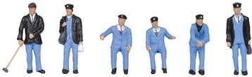 36-407 1950's Train Crew  ##Out Of Stock##