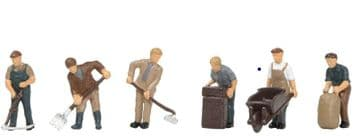 36-413 1940/50's Arable Farming Figures ##Out Of Stock##