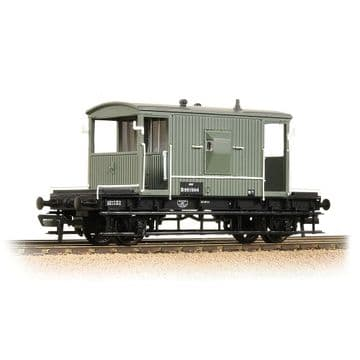 37-528D BR 20T Brake Van BR Grey (Early) ##Out Of Stock##