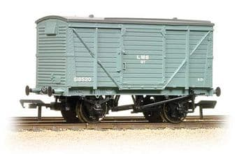 37-803B 12 Ton Planked Ventilated Van LMS Grey