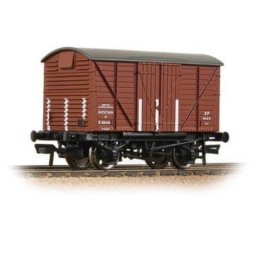 37-903B BR 12T Shock Van Corrugated Ends BR Bauxite (early) Pre Order £20.35