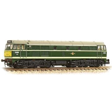 371-111A-Class 31 D5616 BR Green Small Yellow Panel ##Out Of Stock##