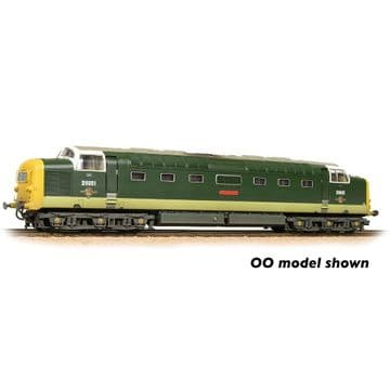 371-289 Class 55 'Deltic' D9001 'St. Paddy' BR Two-Tone Green (Full Yellow Ends
