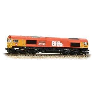 371-399 Class 66/7 66783 'The Flying Dustman' GBRf Biffa Red