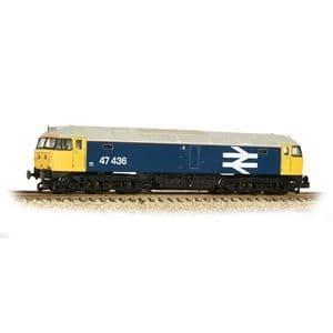 372-250 Class 47/4 47436 BR Blue (Large Logo)